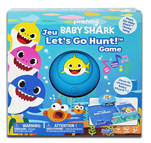 Pinkfong Baby Shark Lets Go Hunt Card Game