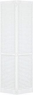 Closet Door, Bi-fold, Kimberly Bay Traditional Louver-Louver White (80x24)