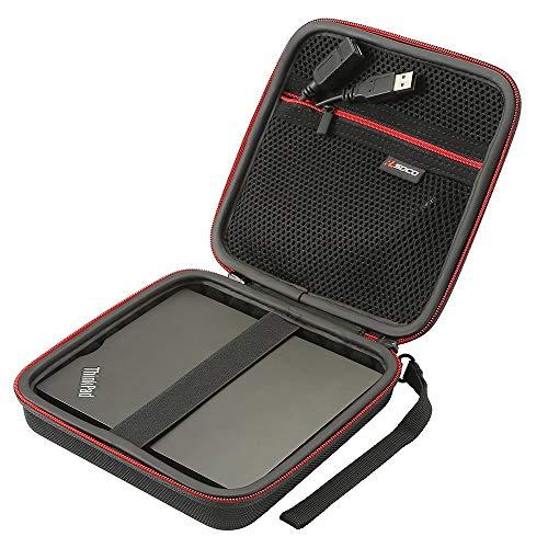 RLSOCO External CD DVD Burner Reader Writer Player Carrying Case for...
