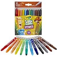 12 Count Crayola Silly Scents Mini Twistables Stinky Scented Crayons