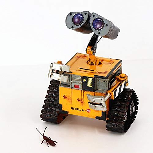 FWQAZ Piggy bank, nieuwigheid spaarvarken gift, het einde van het jaar spaargewoonten voor kinderen, gebruikt om munten op te slaan voor verjaardagscadeaus voor volwassen kinderen-metalen maken robot