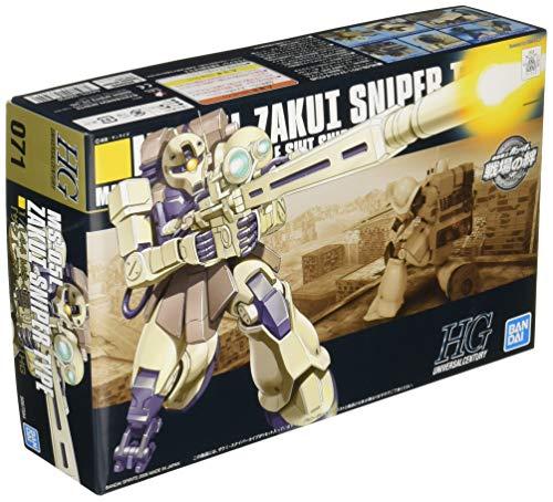 HGUC 機動戦士ガンダム ザクI・スナイパータイプ 1/144スケール 色分け済みプラモデル