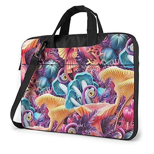 Maletin Portatil Seta de colores Bolsa Ordenador Portatil Bandolera Portatil Impermeable 13/14/15.6 in