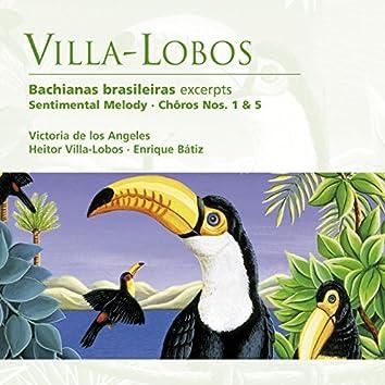 Villa-Lobos: Bachianas brasileiras etc