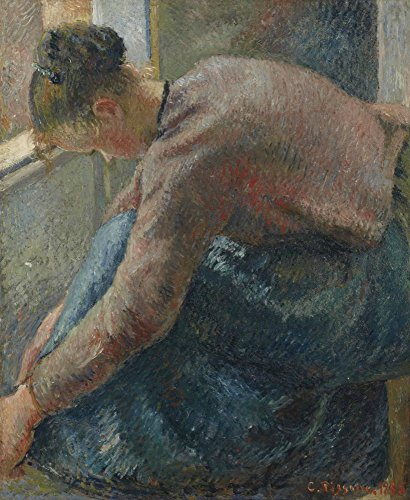 Das Museum Outlet–Bauern Frau auf die Stiefel, 1885–Poster Print Online kaufen (101,6x 127cm)