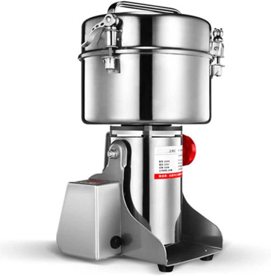 Approuv/é CE 1000 g de type balan/çoire Pour /épices et herbes CGOLDENWALL Moulin /à c/ér/éales /électrique /à affichage LED Haute vitesse Machine /à poudre commerciale 1000 g