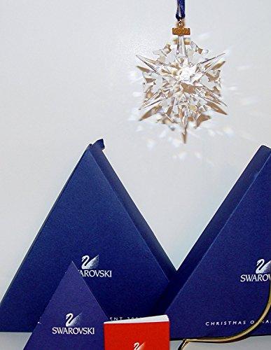 Swarovski Stella Di Natale Pendente Albero Di Natale 288802 AP 2002 Nuovo Con Scatola E Certificato Originale