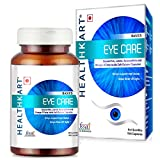 HealthKart Eye Care, with Lutein, Zeaxanthin & Omega-3 for dry eyes and enhanced