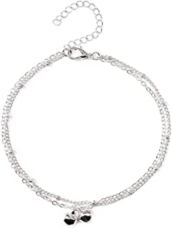 Jewelry Clothing Accessories New Alloy Ladies Anklet Simple Bell Pendant Clothing K133