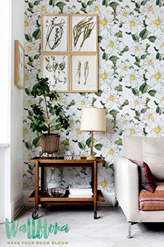 Apple Tree Blanc Fleur Papier peint amovible | | Papier peint Sticker mural Sticker mural papier peint autocollant temporaire Papier peint | | |, 53 Cm wide by 243 Cm Tall