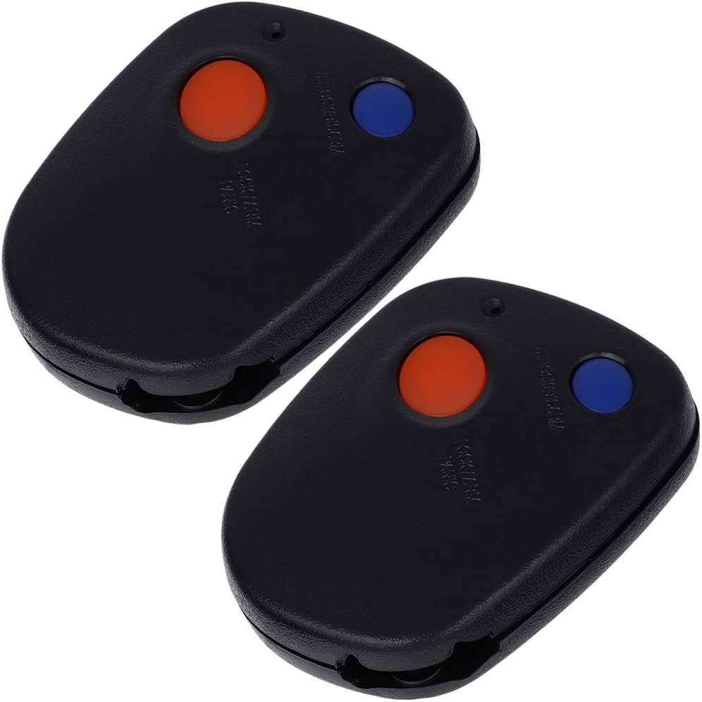 ANGLEWIDE Car Key Fob Keyless Replacement Entry for Great interest 00-04 online shopping Remote