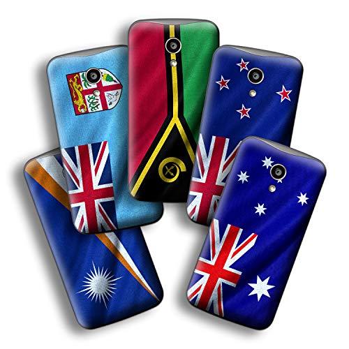 atFolix Designfolie kompatibel mit Motorola Moto G 2. Generation 2014, wähle Dein Lieblings-Design aus, Skin Aufkleber (Flaggen aus Australien & Ozeanien)
