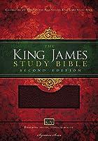 Holy Bible: King James Version, Study Bible, Burgundy Bonded Leather (Nelson KJV Signature)