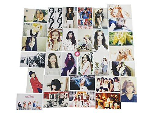 Fanstown Kpop f(x) Postcard with Lomo Cards+ONE PENDANT
