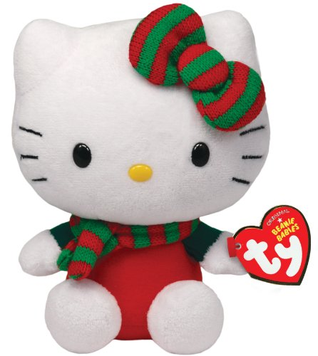 Hello Kitty Baby - Weihnachtsoutfit rot, 15cm lim.