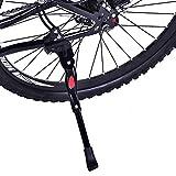 Adjustable Bicycle Kickstand, Bike Kickstand for 22-27 Inch Bike, Bicycle Accessories for Mountain Bike Kids Bike Sports Bike Adult Bike