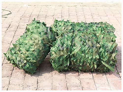 Malla de Camuflaje Sombreo Jardín, De Bosque - Cubierta de de Selva para Sombrilla de Techo de Valla de Techo de Decoración de Fiesta de Caza para Al Aire Libre para Efecto Militar Acampar Red de Camu