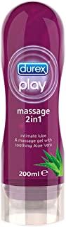 Durex Play 2 in 1 Massage Gel, 200 ml