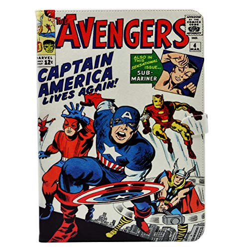 TPACC Case for iPad Pro 11 2020, Cartoon Comic Superhero Alliance Leather Flip Stand Case Cover for iPad Pro 11 Inch 2nd Gen (2020 Release)