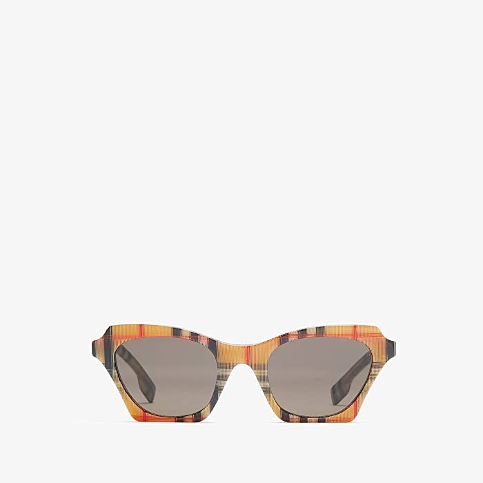 Burberry  0BE4283 (Vintage Check/Brown) Fashion Sunglasses