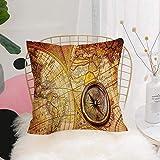 Dimensioni- 45x45cm Invisible Zipper- La cuscini decorativi per divano cucitura è stretta, la stampa è impeccabile, la cerniera è nascosta Regalo e decoro- Grande regalo per ogni vacanza, partite con qualsiasi letto a colori, divano, divano, auto o s...