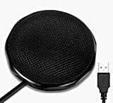 Conference USB Microphone for Meeting Business Computer PC, Laptop,Desktop,Mac & Macbook, Portable Table for Online Chatting, Calls, Meeting, Video Conference