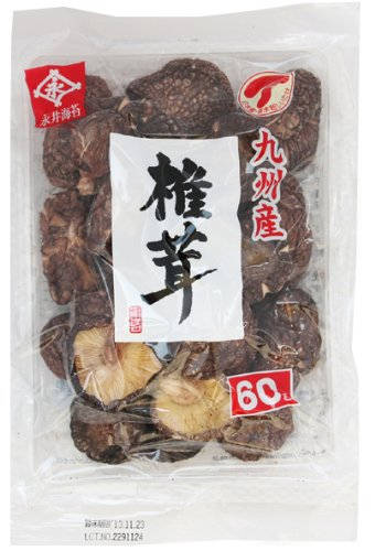 永井海苔 ナガイ 椎茸 国産 香信 60g [2062]