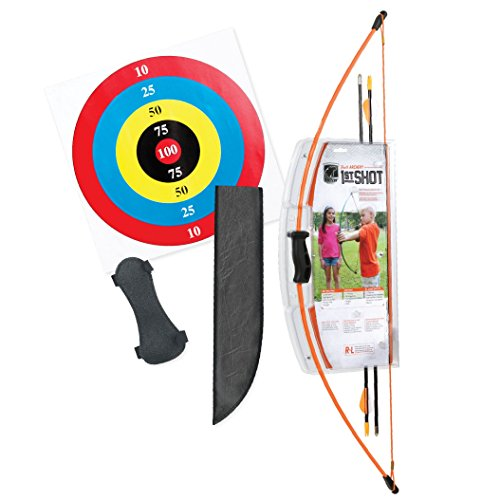 Bear Archery 1st Shot Youth Bow Set – Flo Orange