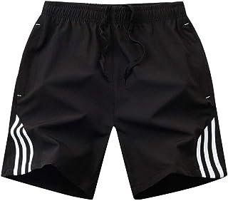 Caoxianh Men's Swim Trunks Waterproof SPA Swimwear Quick-drying Beach Pants Board Shorts Surf Pants Swimwear (Color : Ivory, Size : 6XL)