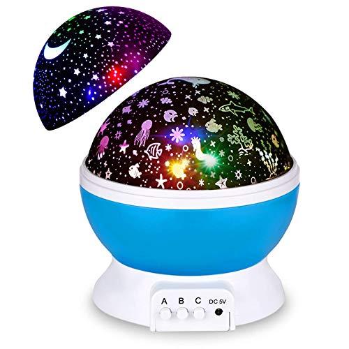 Frado Star Night Projector Lights for Kids Bedroom (Multicolor)