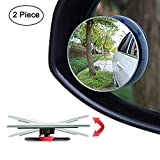 "Best Spot Mirrors - Ampper Blind Spot Mirror, 2"" Round HD Glass Review"