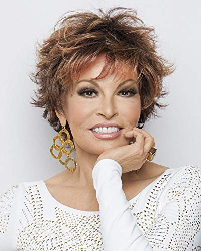 Voltage Synthetic Wig by Raquel Welch in SS613, Cap Size: Average, Length: Short