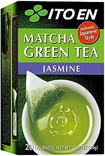 Ito En Matcha Green Tea, Tea Bags box of 20 (Jasmine, Pack of 2)