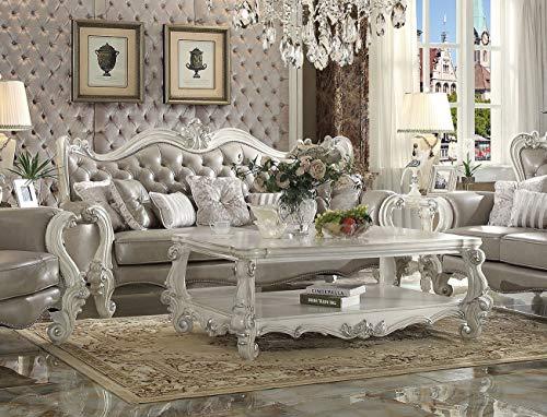 Esofastore Luxurious Living Room Furniture 2pc Sofa & Loveseat Traditional...