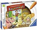 """Ravensburger tiptoi 00830 - 'Rätselspaß auf dem Bauernhof"""" / Spiel von Ravensburger ab 3 Jahren / Löse lustige Logik-Rätsel und fange die Tiere ein!"""