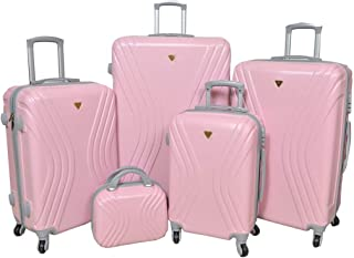 Samsonite Trolly Luggage Set 5 PCs, Pink
