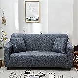 PPOS Elastische Stretch Schonbezüge Sofa Sectional Sofa Cover für Wohnzimmer Couch Cover Single C3 3seats 190-230cm-1pc