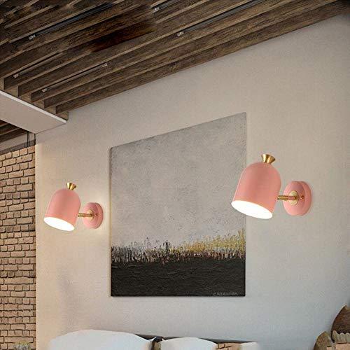 Sccarlettly Wandleuchte Bar Holzrad Lampe Licht Minimalistischen Starre Cafe Wohnzimmer Objekte Der Dekoration Wandlampe Vintage (Color : A-E27*1(W))