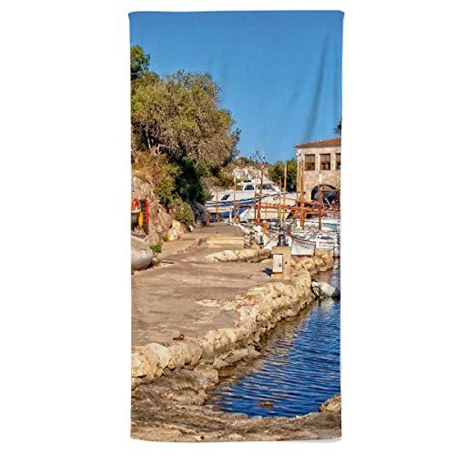 fotobar!style Handtuch 50 x 100 cm Cala Figuera, Mallorca