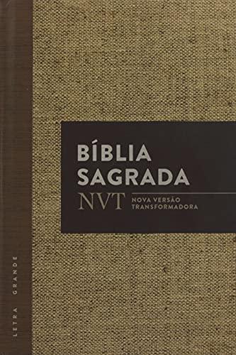 Bíblia NVT - Juta (Letra grande/capa dura)