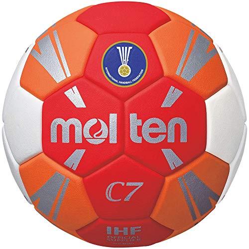 Molten C7 Trainingsball rot/orange/weiß/Silber 2, H2C3500-RO