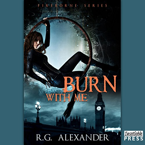 Burn with Me audiobook cover art
