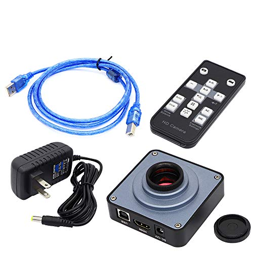 Full HD 38MP 2K 1080P HDMI Industrial Electronic Digital Video Microscope Camera for PCB Soldering Repair