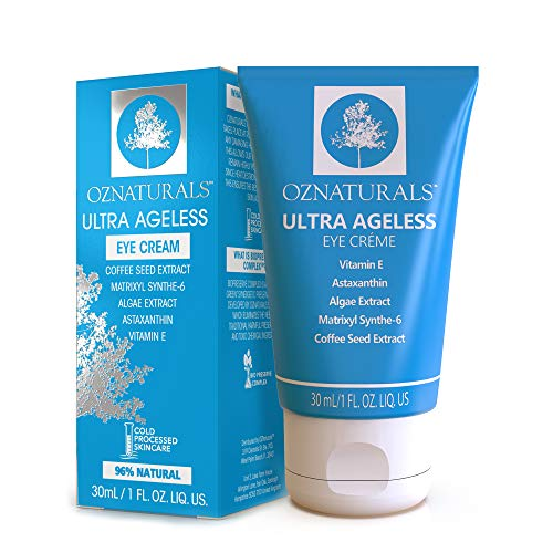OZNaturals Ultra Ageless Eye Cream for Men & Women