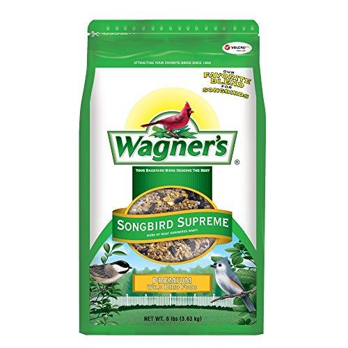 Wagner's 62042 Songbird Supreme Blend Wild Bird Food, 8-Pound Bag