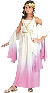 Fun World Big Girl's Greek Goddess Costume Childrens Costume, Multi, Large