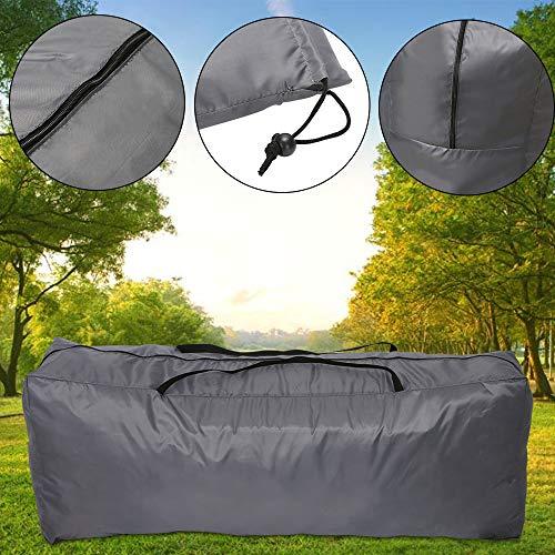 YORKING Auflagentasche Regenschutztasche Wetterschutz für Hochlehner 130 x 32 x 50 cm für Textil Outdoor