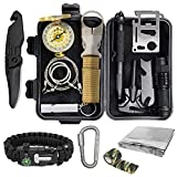 Pocket Survival Kits - Boy Scout Gifts First Aid Kit Camping Gear Emergency Tools Car Gadgets...