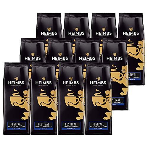 12 Stück Heimbs Festival Kaffee 12 x 250g gemahlen