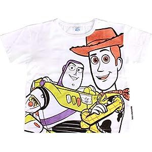 (ディズニー)Disney 半袖Tシャツ キッズ 男の子 女の子 オリジナル【disori-bigt-kids】110cm ウッディーバズ